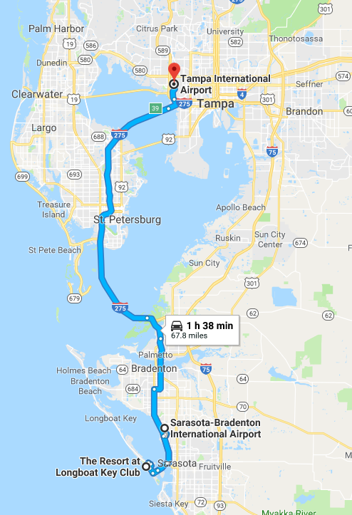 Map to hotel