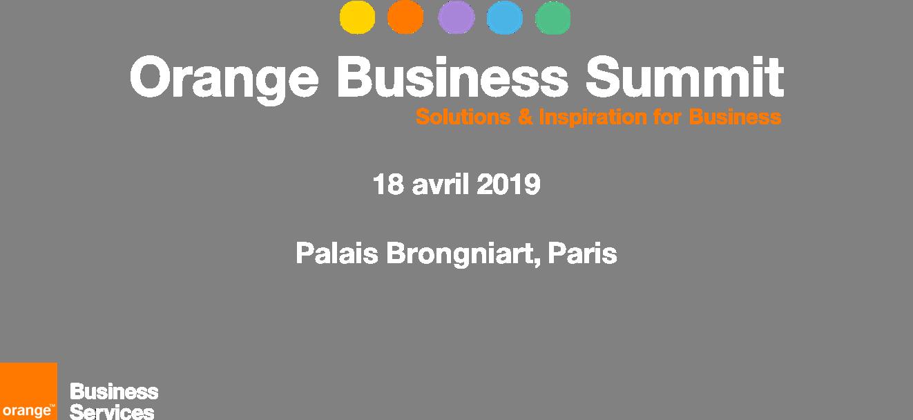 Orange Business Summit 2019