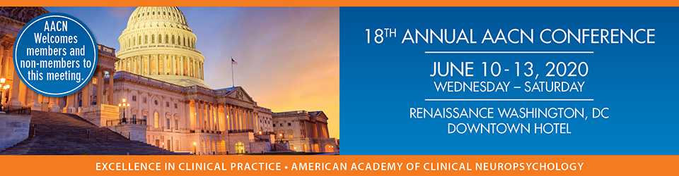 18th Annual Conference of the AACN - Sponsors