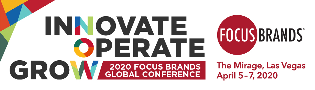 2020 FOCUS Brands Global Conference Sponsorships
