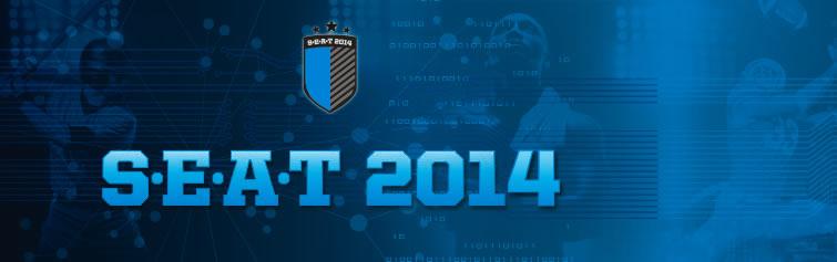 SEAT Blue Logo 2014