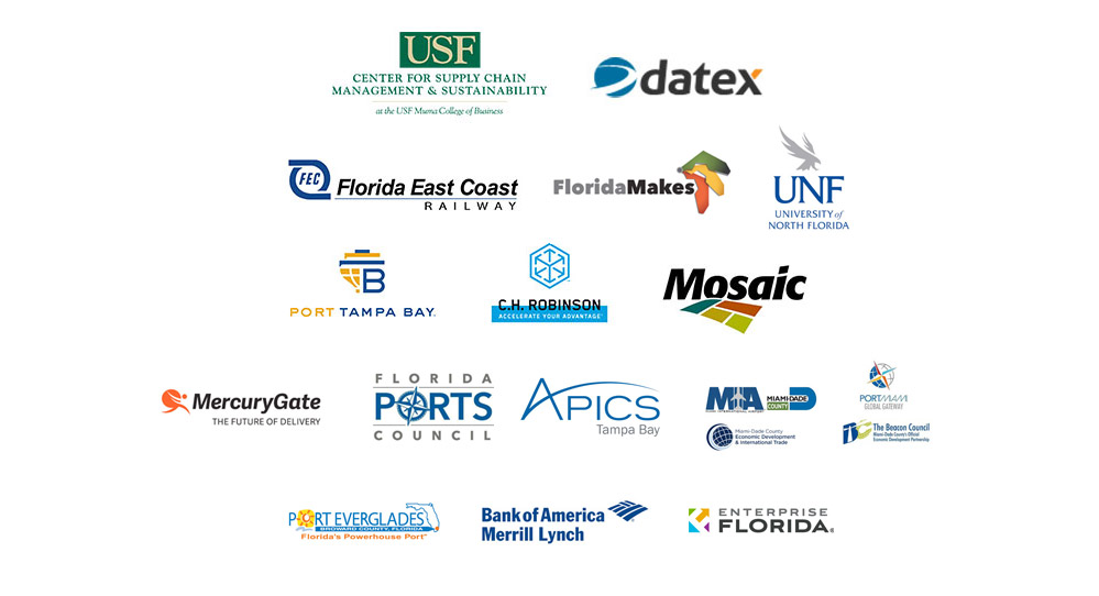 Florida Supply Chain Summit - Sponsor Logos
