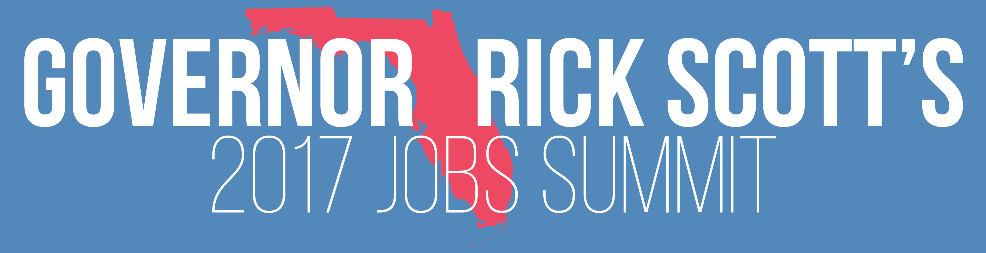 Governor Rick Scott's 2017 Jobs Summit