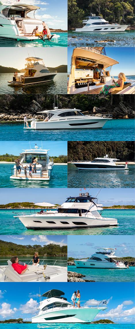 Riviera Festival of Boating CVent site BOAT MODELS