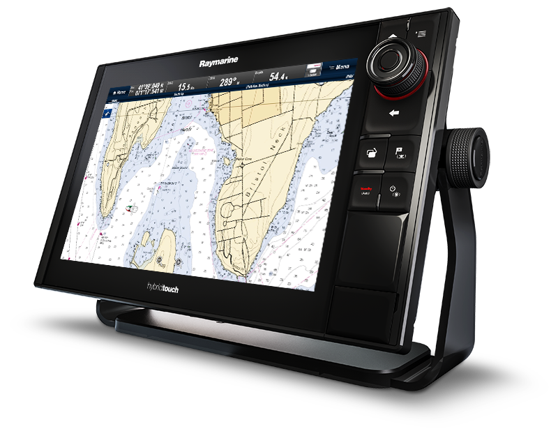 Raymarine_es_series_Mfd_multifunction_display_GPS_es78_right_hand_facing_rugged_erganomic_design_map
