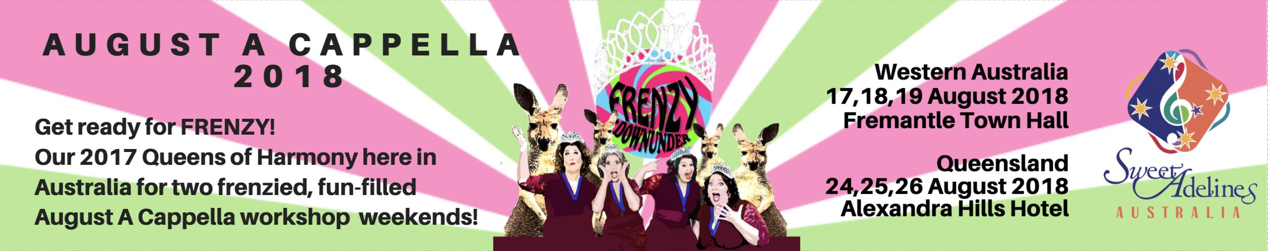 Frenzy DownUnder Tour -