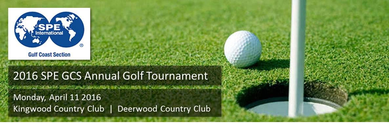 2016 SPE-GCS Golf Tournament