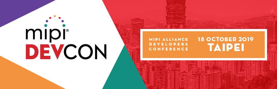 MIPI DevCon Taipei 2019