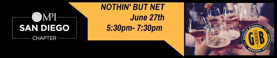 Nothin' But Net -  June 2017