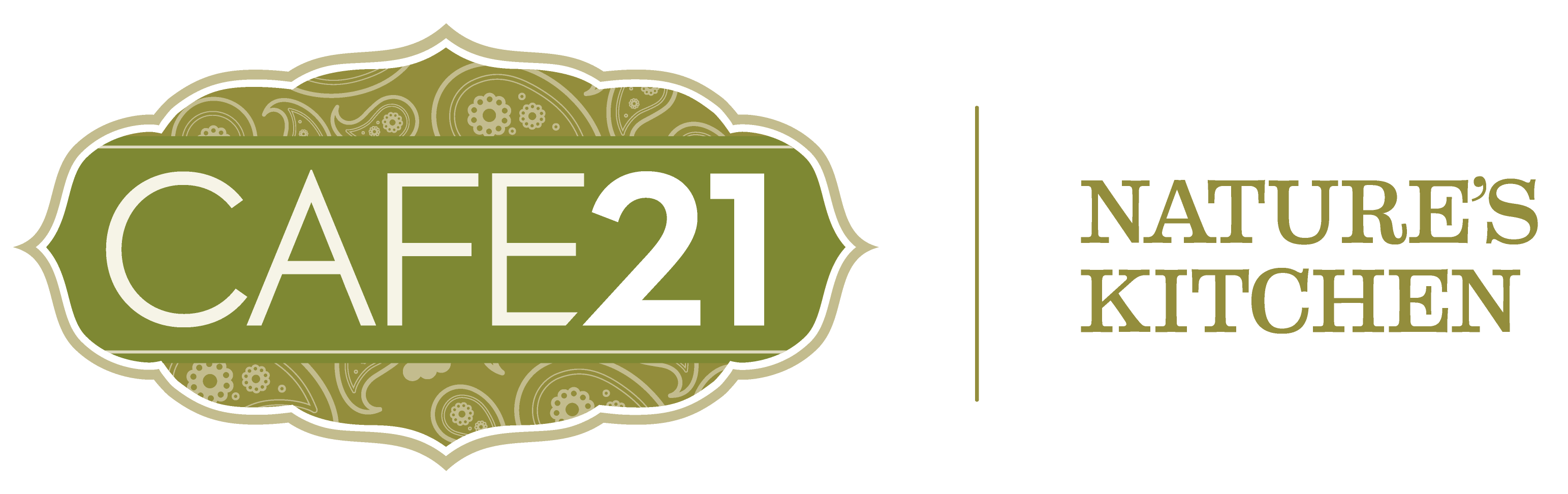 Cafe21 3301x2551 Green Gold- Logo