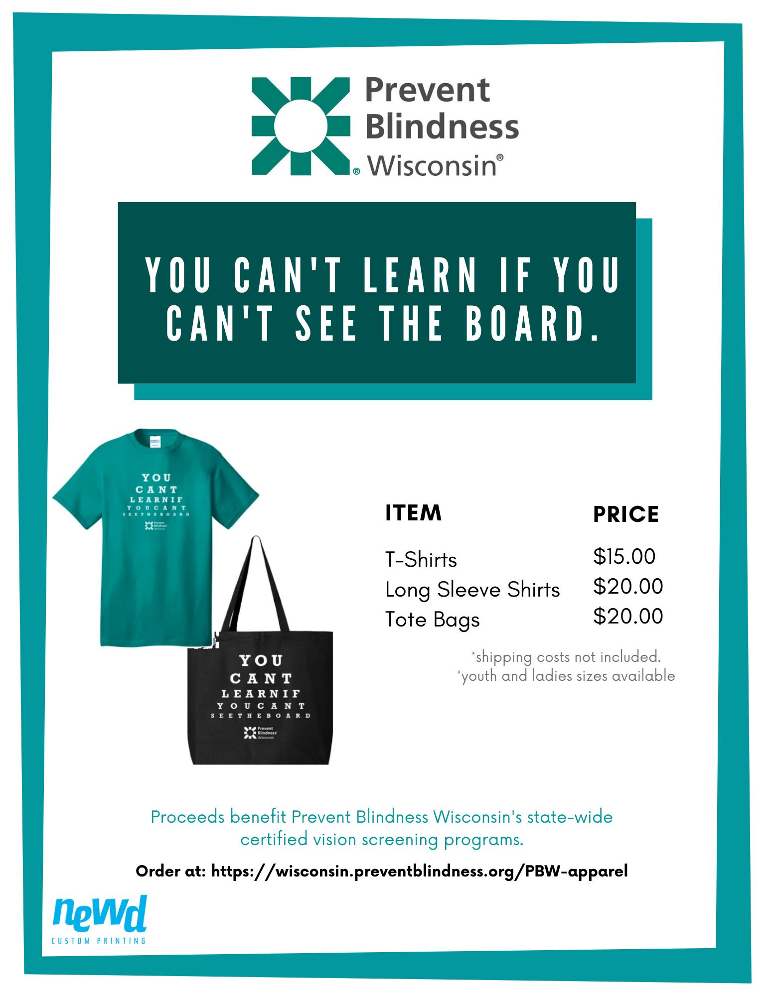 T-shirt flyer 2020