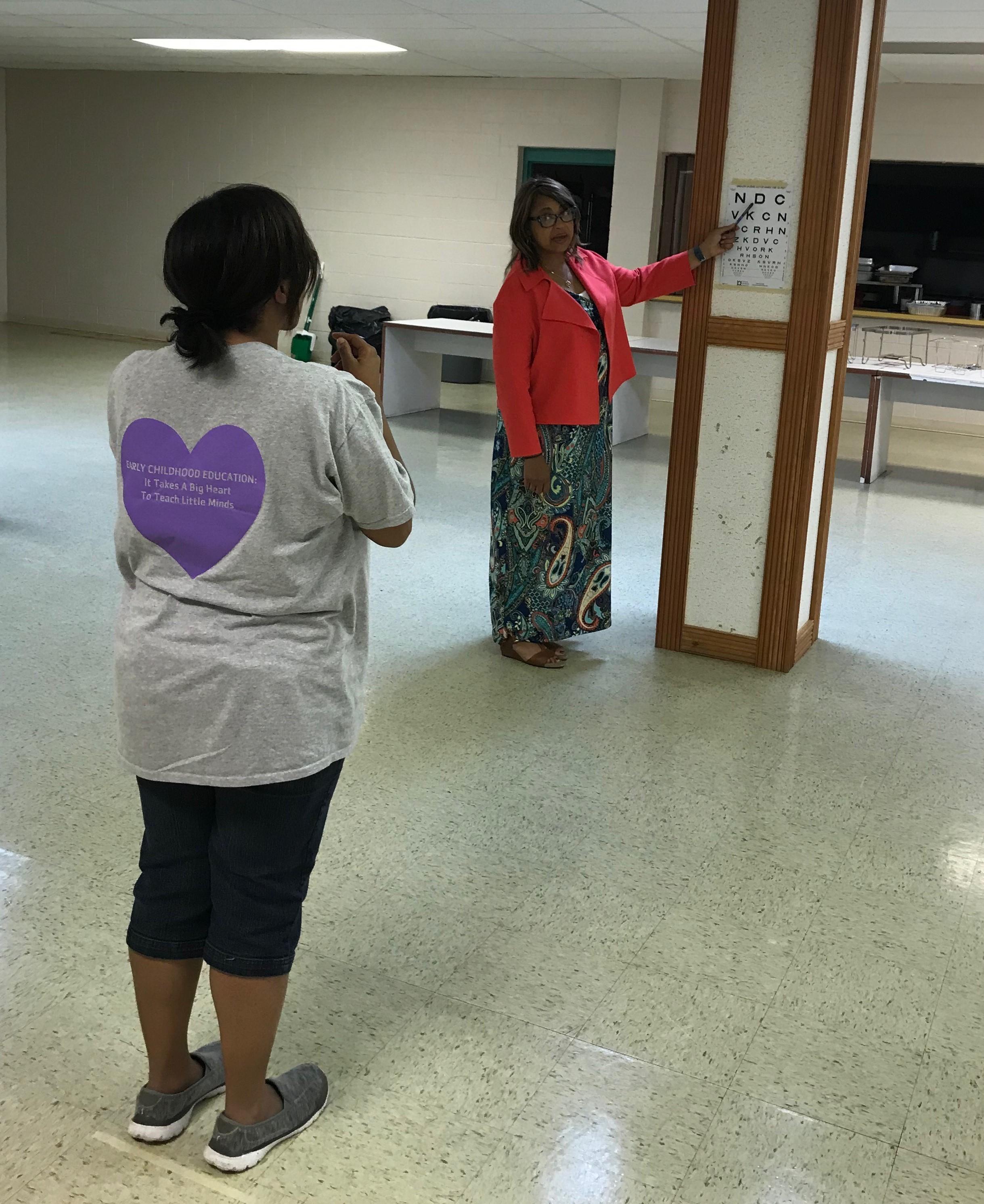 Mt. Zion Adult Training Snellen
