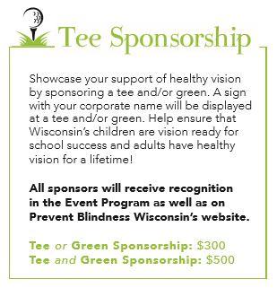 Tee sponsorship image