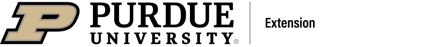 Purdue Unvirsity Extension logo