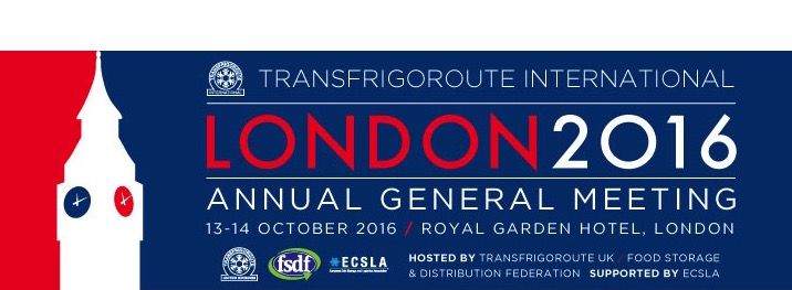 Transfrigoroute International          13-14 October 2016 London, UK
