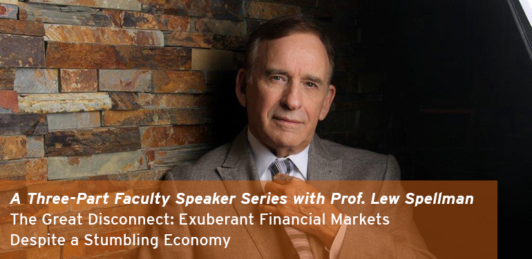 A Three-Part Faculty Speaker Series with Prof. Lew Spellman