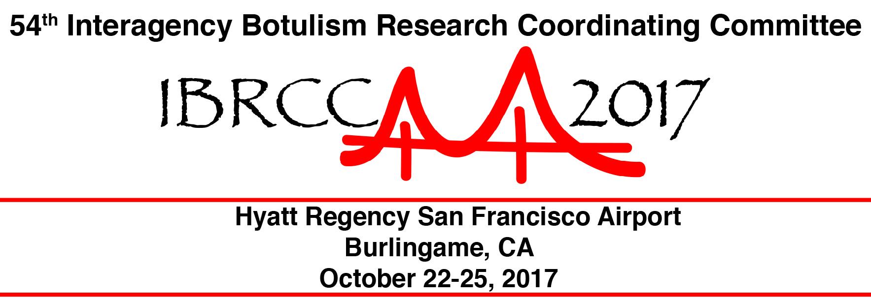 Interagency Botulism Research Coordinating Committee (IBRCC) Meeting 2017