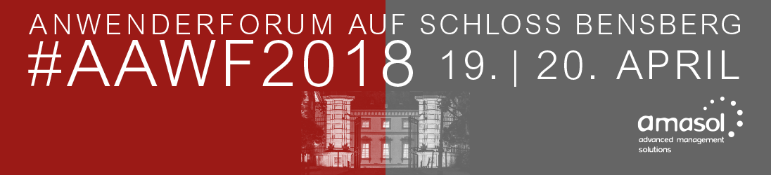 amasol Anwenderforum 2018