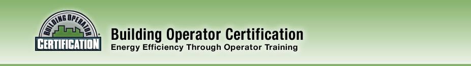Building Operator Certification