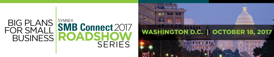 2017 SMB Connect Roadshow - Washington D.C.