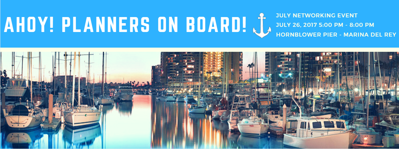 Ahoy! Planners On Board - July Networking Event