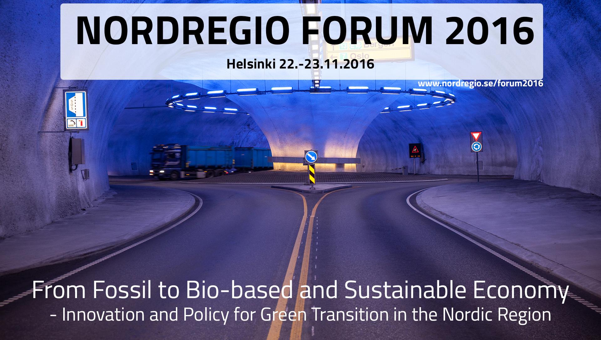 Nordregio Forum 2016