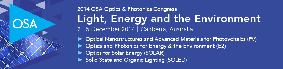 2014 Light, Energy and the Environment Congress