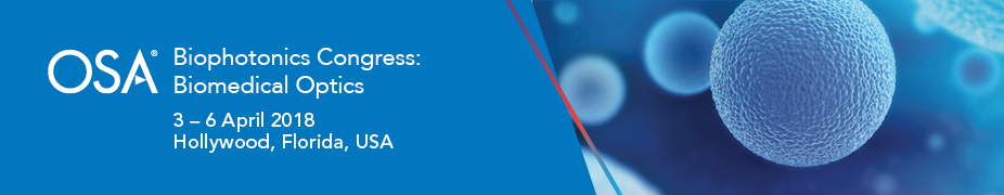 2018 Biophotonics Congress: Biomedical Optics