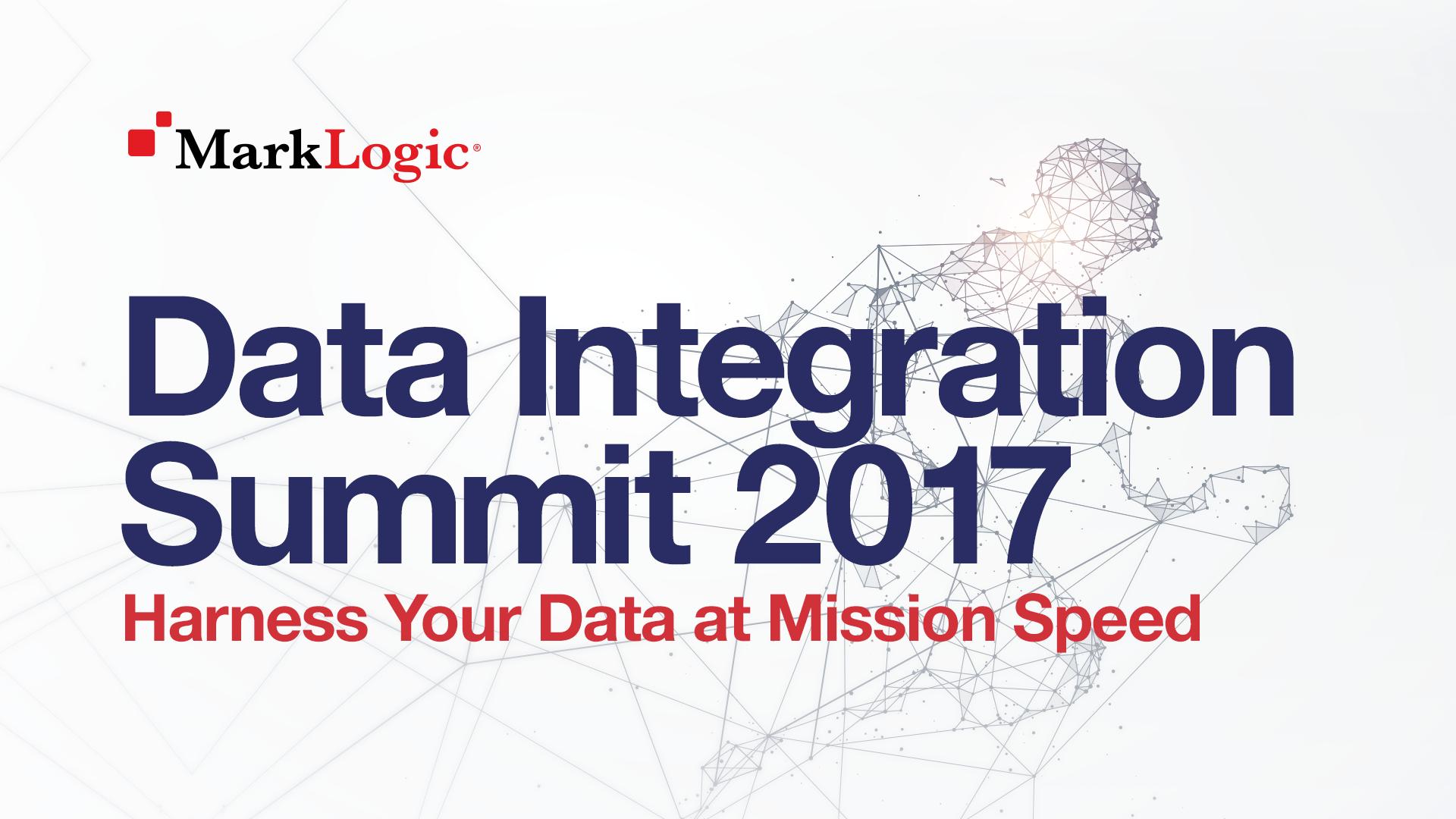 MarkLogic Data Integration Summit