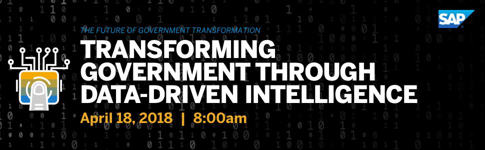 SAP: Transforming Government through Data-Driven Intelligence