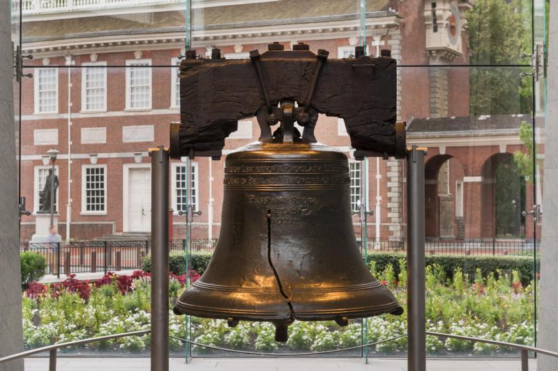 Liberty Bell Close up