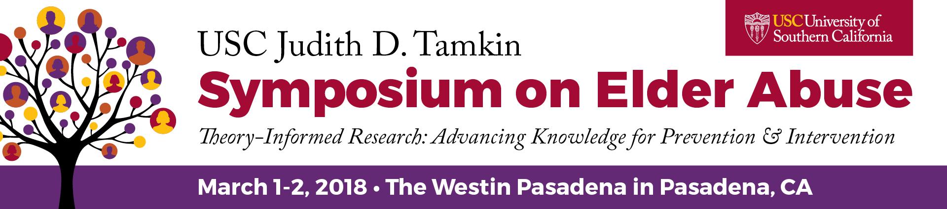 USC Judith D. Tamkin Symposium on Elder Abuse