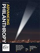 Advancing Philanthropy- Oct 2018