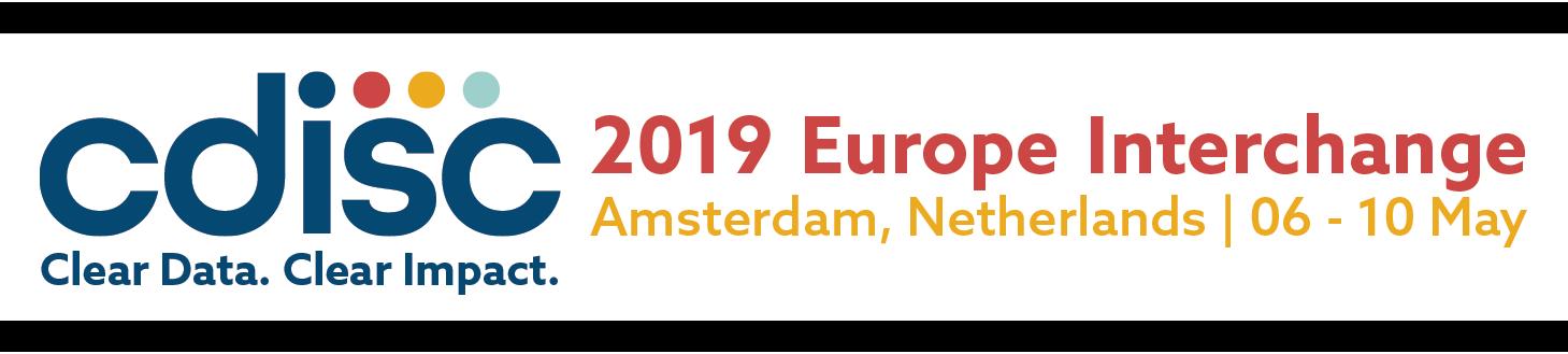 CDISC 2019 Europe Interchange