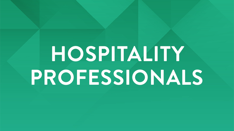Hospitality Professionals