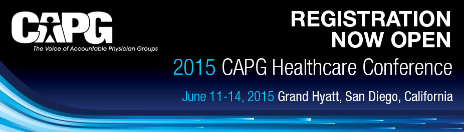 2015 CAPG Healthcare Conference