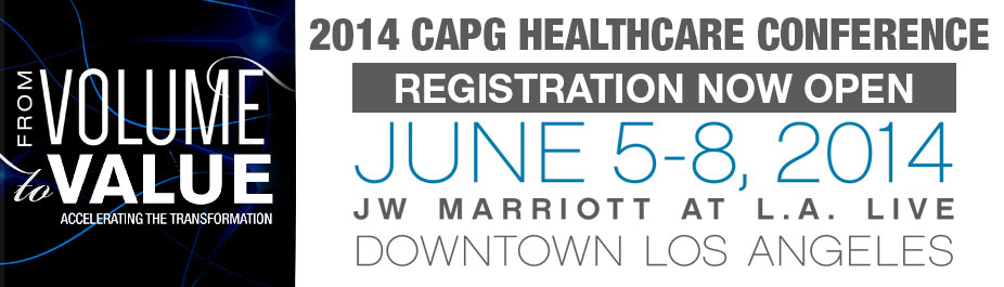 2014 CAPG Healthcare Conference