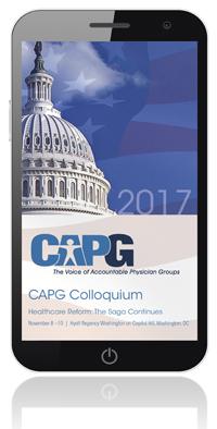 CAPG Colloquium 2017 Mobile App