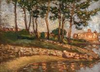 Alice Pike Barney Landscape