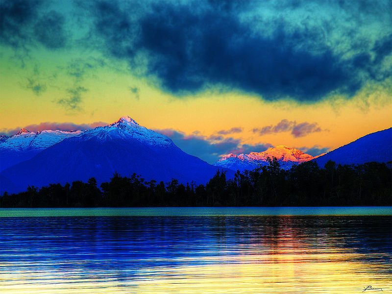Mystic Writings_Lake_te_anau
