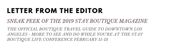 new 12.12.18 Letter From The Editor BW