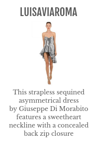silver dress luisaviaroma Your guide to boutique f