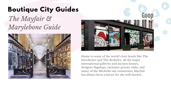 Mayfair Boutique City Guides BW