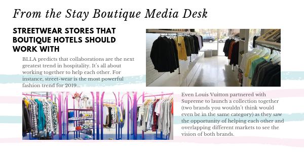 streetwear Stay Boutique Media Desk BW