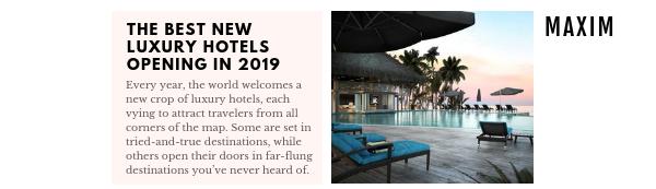 luxury hotels 2019