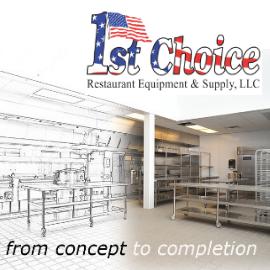 1st Choice Restaurant Equipment & Supply Ad 270x27