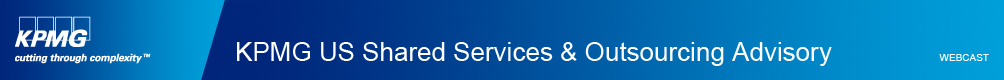 KPMG U.S. Shared Services & Outsourcing Advisory