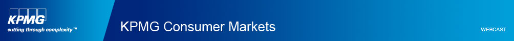 KPMG Consumer Markets Practice Webcast on April 8, 2014