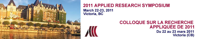 Applied Research Symposium 2011