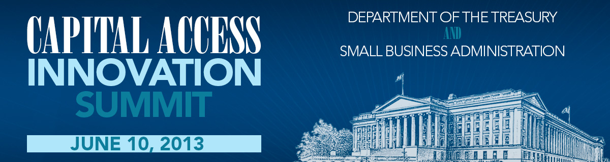 Web Banner - access to capital